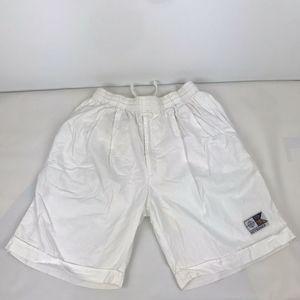 Vintage 80's Outrigger 1982 White Linen Shorts